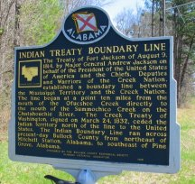 Indian Treaty Boundary Line